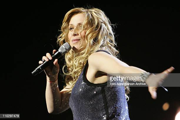 Lara Fabian during 2007 Night of the Proms at Nikaia in Nice France