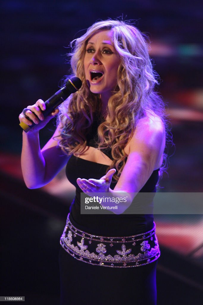 Lara Fabian during 57th San Remo Music Festival - Day 4 in Sanremo, Italy.