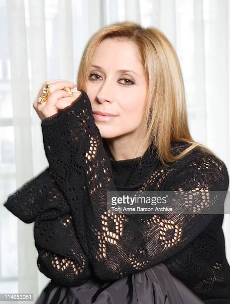 Lara Fabian during Lara Fabian Exclusive Portraits For Her New Album 9 Soon to be released at Grand Hotel Intercontinental in Paris France