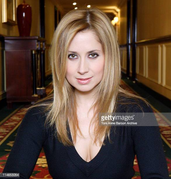 Lara Fabian during Lara Fabian Exclusive Portraits For Her New Album '9' Soon to be released at Grand Hotel Intercontinental in Paris France