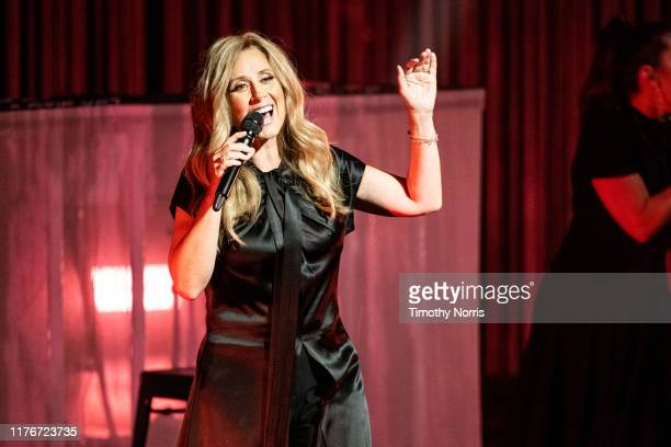 Lara Fabian performs at Dolby Theatre on September 23 2019 in Hollywood California