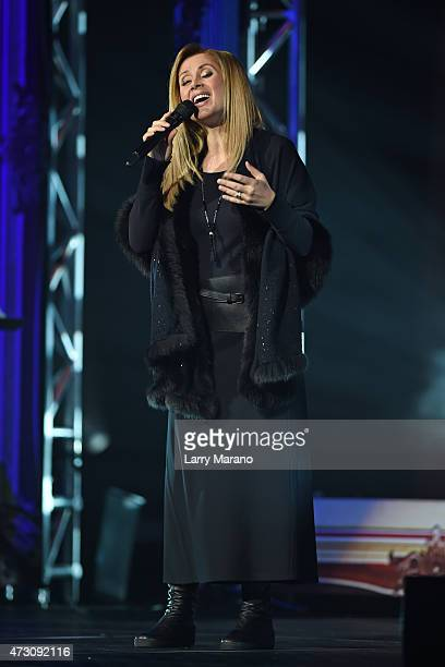 Lara Fabian performs at Hard Rock Live held at the Seminole Hard Rock Hotel Casino on March 13 2015 in Hollywood Florida