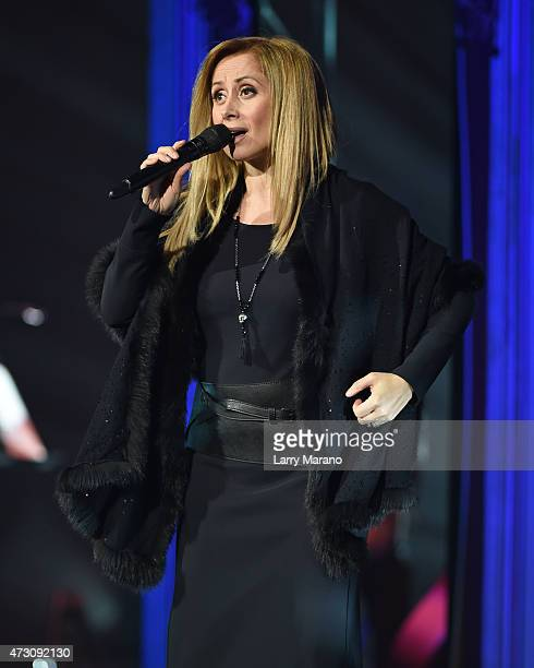 Lara Fabian performs at Hard Rock Live held at the Seminole Hard Rock Hotel & Casino on March 13, 2015 in Hollywood, Florida.