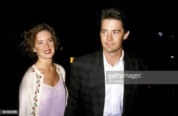 Lara Flynn Boyle and Kyle MacLachlan
