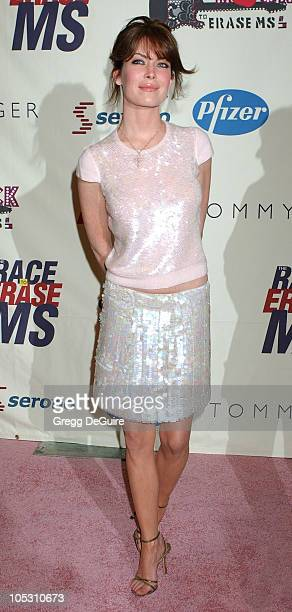 Lara Flynn Boyle during 11th Annual Race To Erase MS Gala Arrivals at The Westin Century Plaza Hotel in Los Angeles California United States