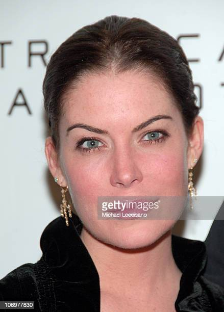 Lara Flynn Boyle during 5th Annual Tribeca Film Festival 'Land Of The Blind' Premiere Inside Arrivals at Tribeca Grand Hotel in New York City New...