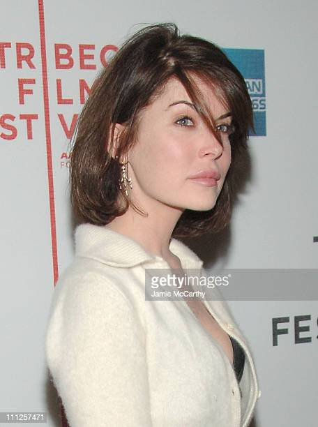 Lara Flynn Boyle during 5th Annual Tribeca Film Festival 'Land Of The Blind' Premiere Red Carpet at Loews Lincoln Center and The Asia Society in New...