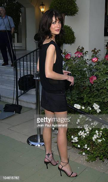 Lara Flynn Boyle during ABC 2002 Summer Press Tour All Star Party at Tournament House in Pasadena California United States