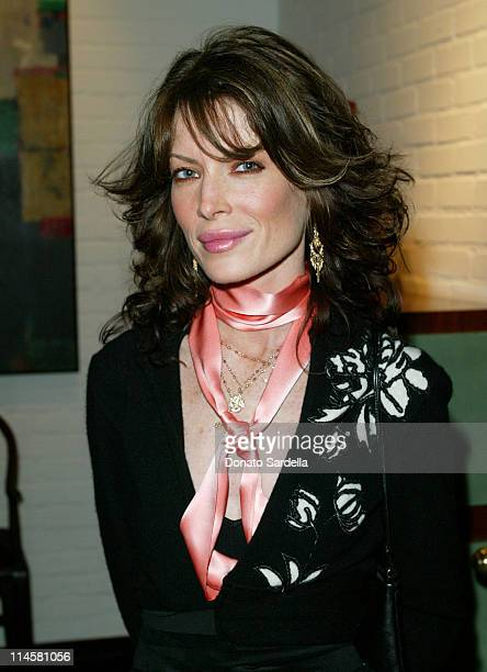 Lara Flynn Boyle during Book Launch for Gigi Grazer's 'man eater' at Private Residence in Los Angeles California United States