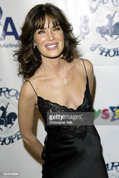 Lara Flynn Boyle during Carousel of Hope Benefitingthe Barbara Davis Center For Childhood Diabetes at Beverly Hilton Hotel in Los Angeles CA United...