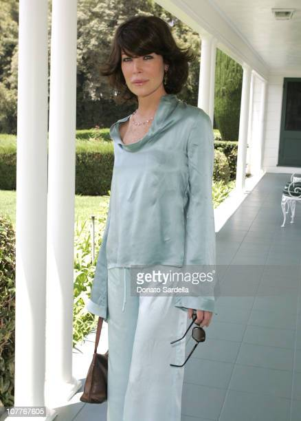 Lara Flynn Boyle during Juicy Couture Swimwear Launch at Private Residence in Los Angeles, California, United States.