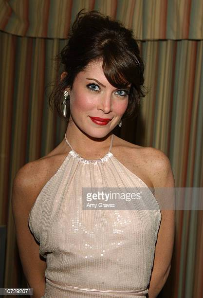 Lara Flynn Boyle during Mercedes Benz Oscar Viewing Party at Four Seasons Hotel in Beverly Hills California United States