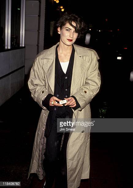 Lara Flynn Boyle during Wayne's World Los Angeles Premiere at Mann's Village Theater in Westwood California United States