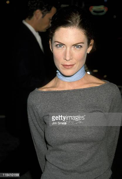 Lara Flynn Boyle during Westwood Premiere of 'Beloved' at Mann Bruin Theatre in Westwood California United States
