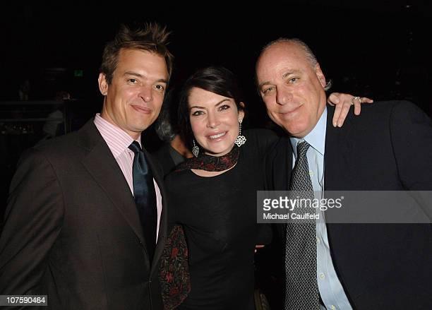 Lara Flynn Boyle Ken Rickel and guest