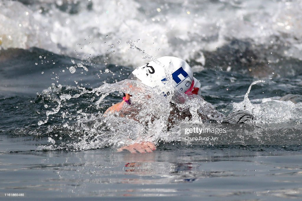 Gwangju 2019 FINA World Championships: Open Water Swimming - Day 2 : Photo d'actualité