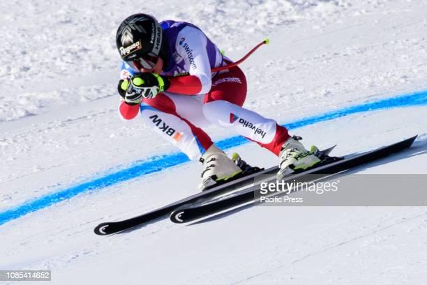 AMPEZZO ITALY CORTINA D'AMPEZZO DOLOMITES ITALY Lara Gut Behrami of Switzerland in action during the Audi FIS Alpine Ski World Cup Women's Downhill