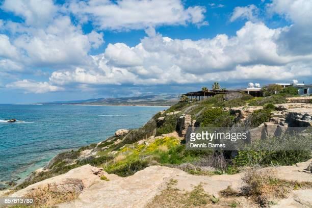 lara headland, paphos, pafos,  cyprus - アカマス半島 ストックフォトと画像