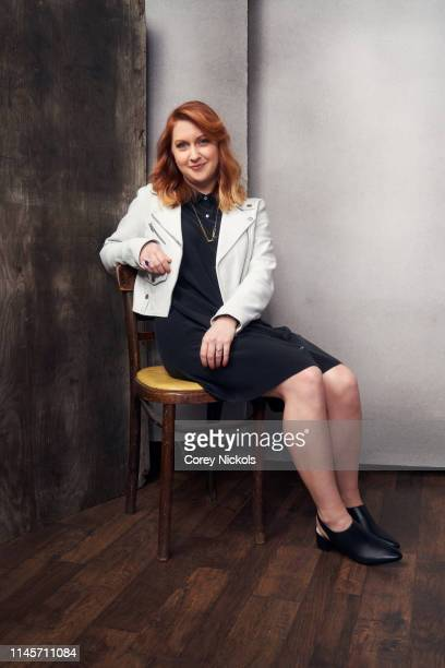 Lara Jean Gallagher of film 'Clementine' poses for a portrait during the 2019 Tribeca Film Festival at Spring Studio on April 28 2019 in New York City