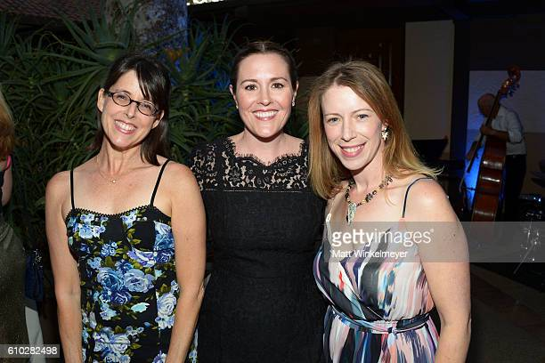 Lara Jill Miller Rachael MacFarlane and Anna Graves attend the Heaven On Earth Gala The Perry MacFarlane Legacy honoring 20th Century Fox TV...