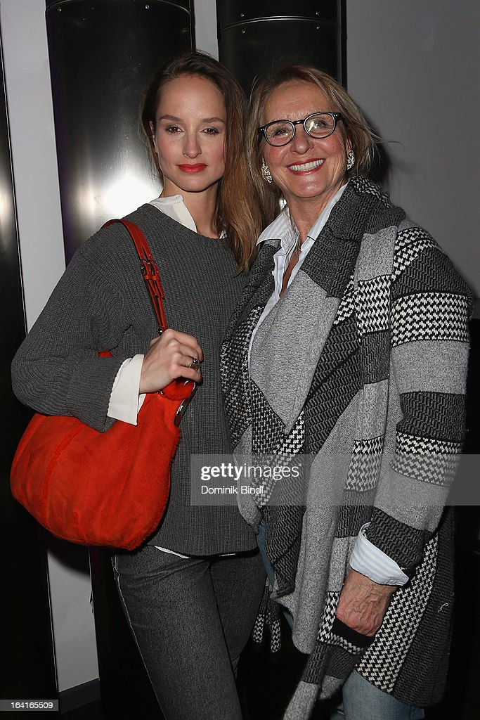 Lara Joy Koerner and Diana Koerner attend the Ndf Afterwork Party at 8 Seasons on March 20, 2013 in Munich, Germany.
