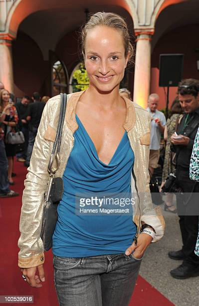 Lara Joy Koerner attends the 'Bavaria Reception' during the Munich Film Festival at the Kuenstlerhaus on June 29 2010 in Munich Germany