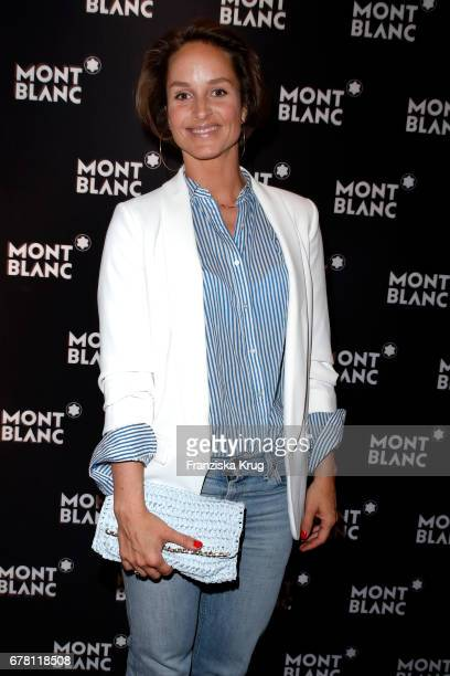 Lara Joy Koerner attends the Montblanc spring party on May 3 2017 in Munich Germany
