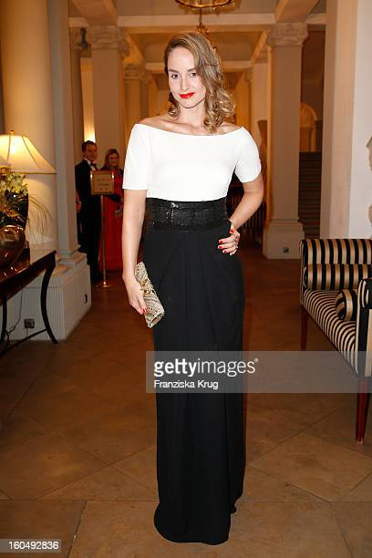 Lara Joy Koerner attends the 'Semper Opera Ball 2013' on February 1 2013 in Dresden Germany