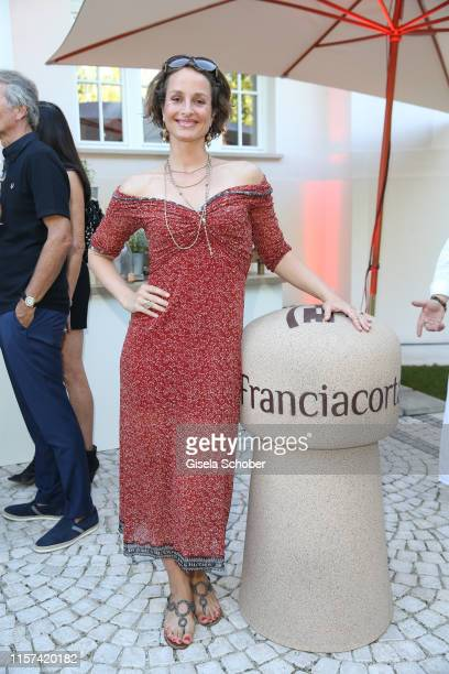 Lara Joy Koerner during the Ein Abend mit Franciacorta event at Villa Wagner on July 23 2019 in Munich Germany