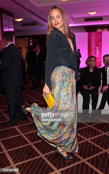 Lara Joy Koerner during the Video Entertainment Award 2014 on November 19 2014 at Hotel Westin Grand in Munich Germany