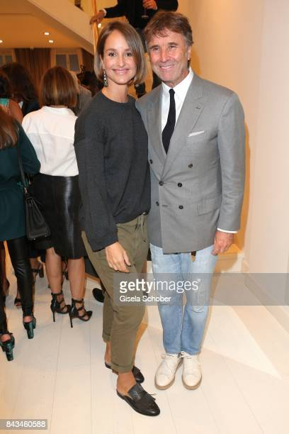 Lara Joy Koerner Fashion designer founder and president Brunello Cucinelli during the Brunello Cucinelli Cocktail on September 6 2017 in Munich...