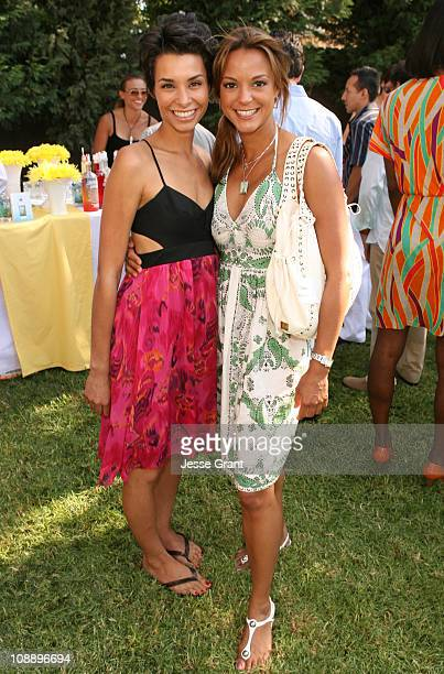Lara La Rue and Eva La Rue during 9th Annual GLAAD Cocktail Party Absolut Hancock Park at Private Residence in Los Angeles California United States