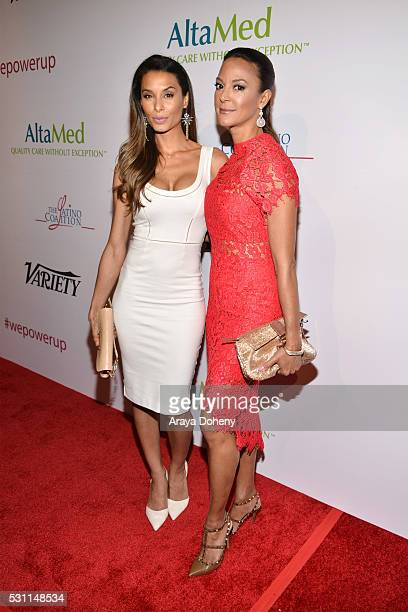 Lara LaRuy and Eva LaRue attend the AltaMed Health Services' Power Up We Are The Future Gala at the Beverly Wilshire Four Seasons Hotel on May 12...