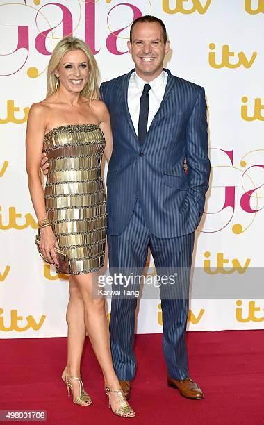 Lara Lewington and Martin Lewis attend the ITV Gala at London Palladium on November 19, 2015 in London, England.