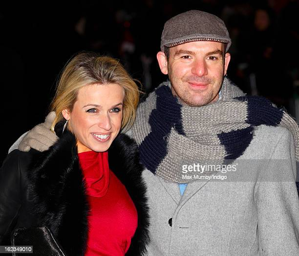 Lara Lewington and Martin Lewis attend the UK premiere of 'Arbitrage' at Odeon Odeon West End on February 21, 2013 in London, England.