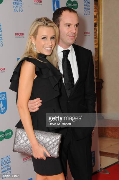 LAra Lewington and Martin Lewis attends the Guide Dogs UK Annual Awards 2013 at the London Hilton on December 11, 2013 in London, England.