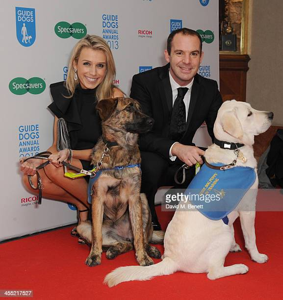 Lara Lewington and Matin Lewis attends the Guide Dogs UK Annual Awards 2013 at the London Hilton on December 11, 2013 in London, England.