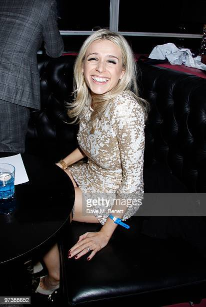 """Lara Lewington arrives at """"The Shouting Men"""" premiere after party at Sound on March 02, 2010 in London,England."""