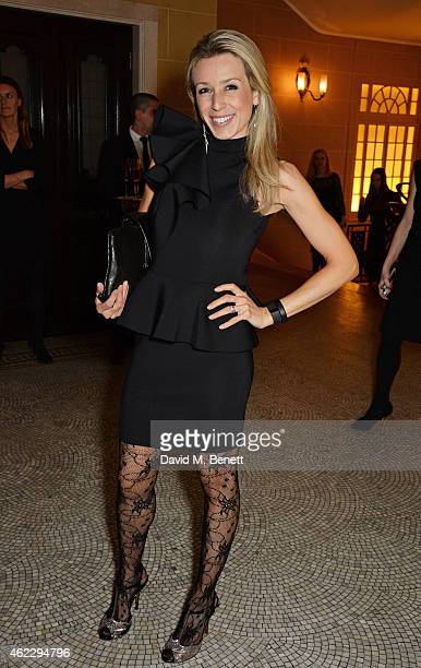 Lara Lewington attends Debrett's 500 party, hosted at The Club at Cafe Royal on January 26, 2015 in London, England. The Debrett's 500 recognise the...