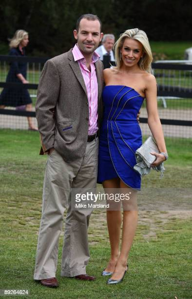 Lara Lewington attends the Cartier International Polo Day at Guards Polo Club on July 26 2009 in Egham England