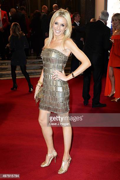 Lara Lewington attends the ITV Gala at London Palladium on November 19, 2015 in London, England.
