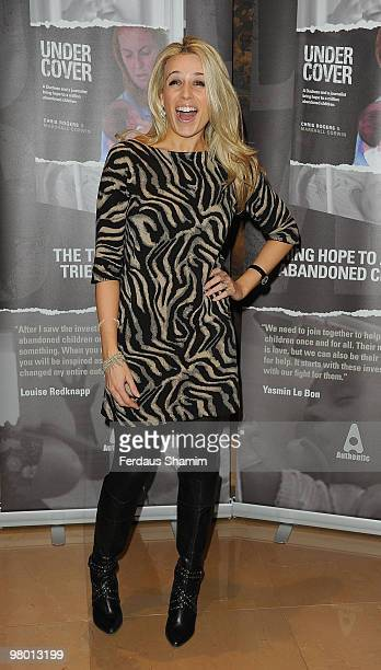 Lara Lewington attends the launch of Chris Rogers' book titled 'Undercover' at The Mayfair Hotel on March 23, 2010 in London, England.
