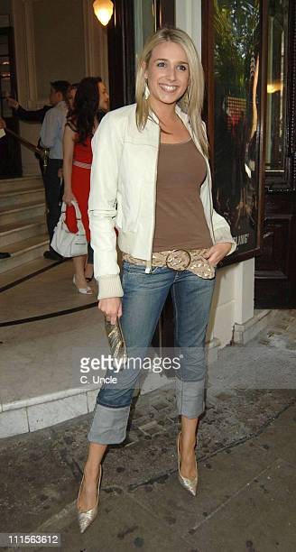 Lara Lewington during Fame The Musical 10th Anniversary at Aldwych Theatre in London Great Britain