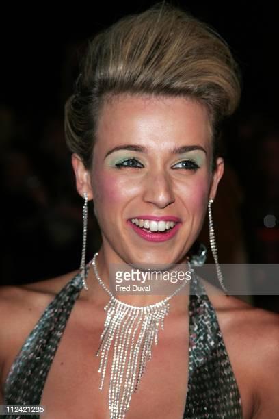 Lara Lewington during National Television Awards 2005 at Royal Albert Hall London in London United Kingdom