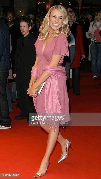 Lara Lewington during National Treasure London Premiere at Odeon West End in London United Kingdom