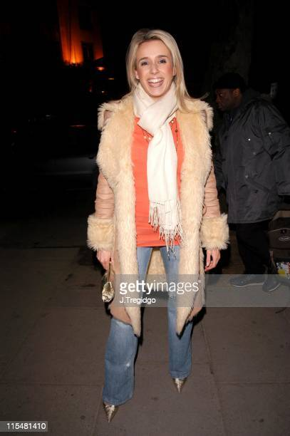 Lara Lewington during Piers Morgan Private Book Launch Party at Axis Restaurant in London Great Britain