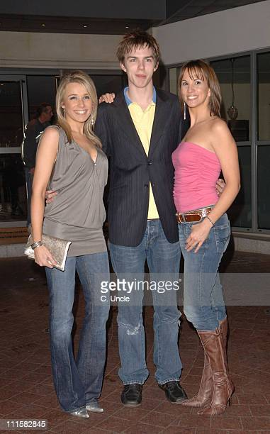 Lara Lewington Nicholas Hoult and Andrea Mclean during The Weather Man London Premiere at Soho Hotel in London Great Britain