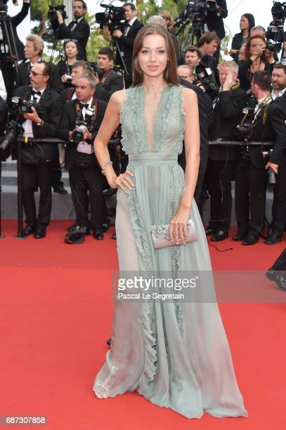 Lara Lieto attend the 70th Anniversary screening during the 70th annual Cannes Film Festival at Palais des Festivals on May 23 2017 in Cannes France