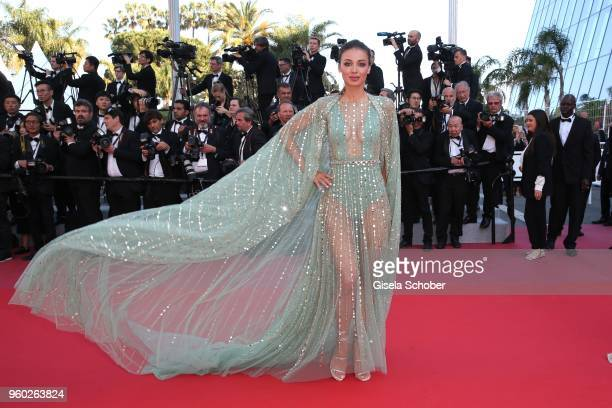Lara Lieto attends the Closing Ceremony screening of The Man Who Killed Don Quixote during the 71st annual Cannes Film Festival at Palais des...