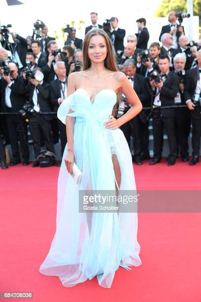 Lara Lieto attends the Ismael's Ghosts screening and Opening Gala during the 70th annual Cannes Film Festival at Palais des Festivals on May 17 2017...